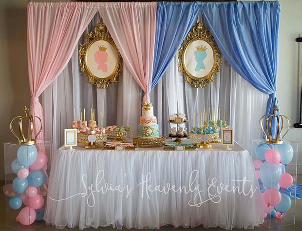 Royal Gender Reveal Party Idee