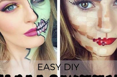 21 Einfaches DIY Halloween Makeup Looks