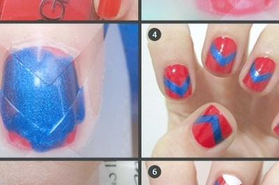 Tutoriales de uñas: Cómo usar Scotch Tape