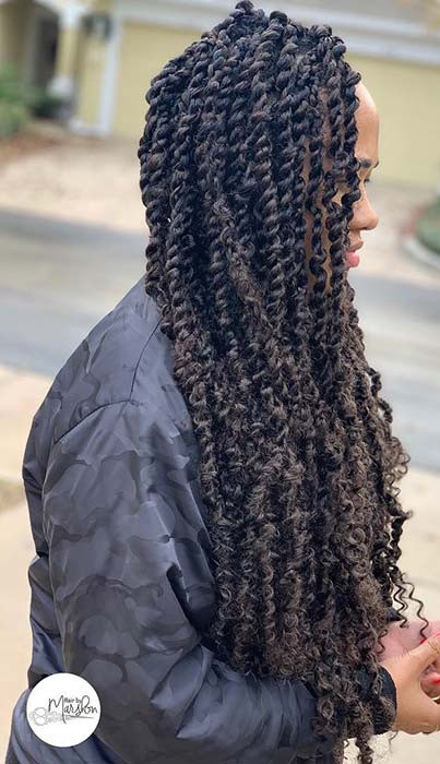 Trendy, Long Passion Twists
