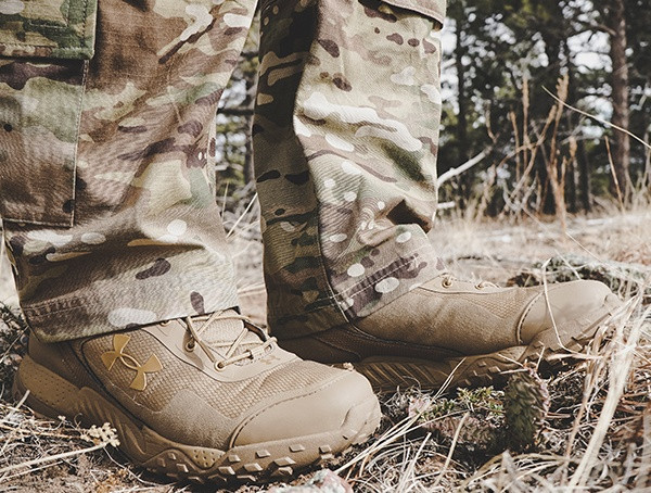 Under Armour Review Herren Coyote Brown Valsetz Rts Tactical Boots