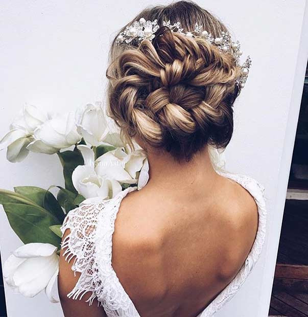 Fischschwanz French Braid Updo