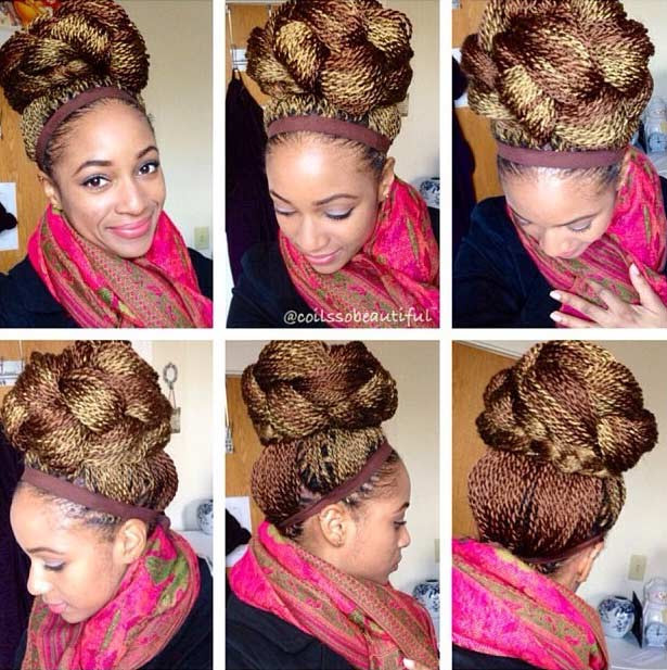 Senegalese Micro Twists Style