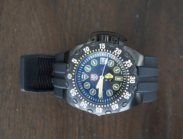 Wasserfeste Herrenuhren Luminox Scott Cassell Deep Dive Special Edition