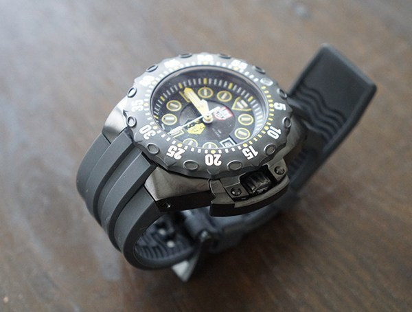 Luminox Scott Cassell Deep Dive Special Edition Herrenuhren Schwarz