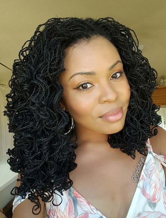 Glam Curly Sisterlocks