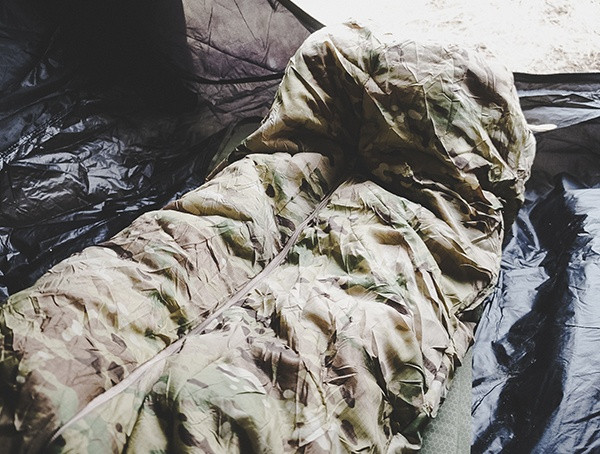 Camping Outdoor Feldtest Multicam Snugpak Special Forces 1 Schlafsack