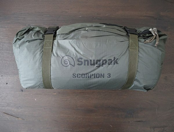 Kompressionssack Snugpak Scorpion 3 Zelt