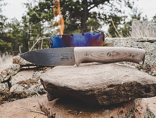 Bushcraft White River Messer und Werkzeug Ursus 45 Knives Review