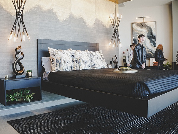 Floating Bed 2019 New American Home