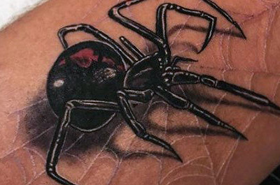 100 Spinnen-Tattoos für Männer - A Web of Manly Designs