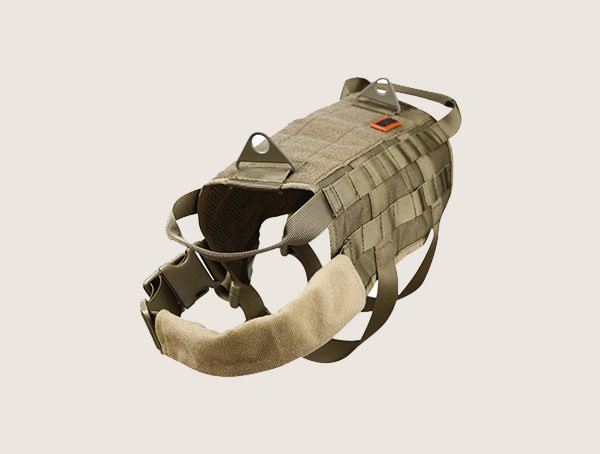 Onetigris Tactical Dog Harness mit Netzgriffen