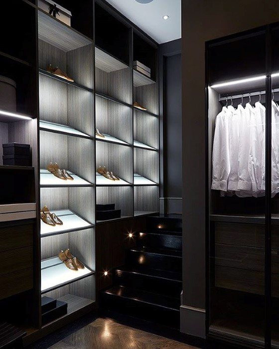 Manly Closet Ultimate Bachelor Pad Designs