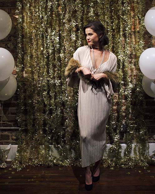 Tolle Gatsby-Outfit- und Party-Idee
