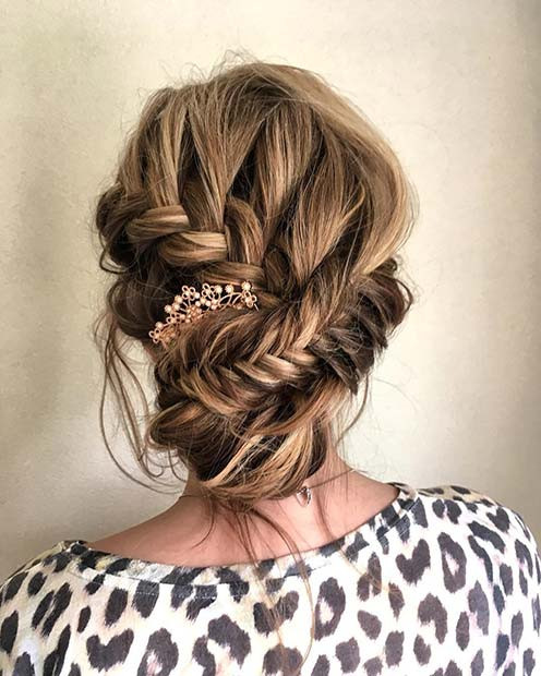 Multi Braid Updo