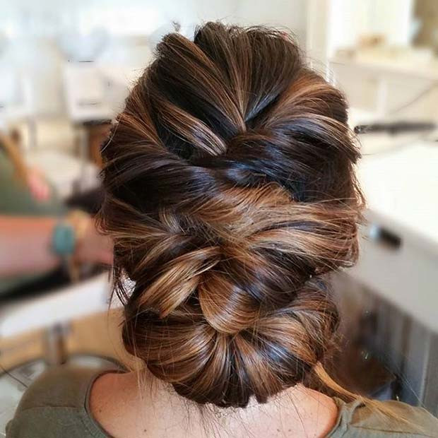 Multi Twist Updo