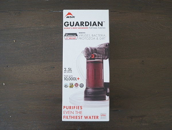 Msr Guardian Purifier Box Vorderseite