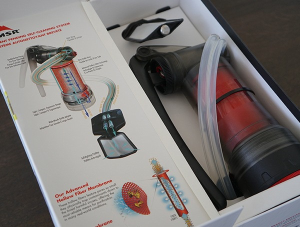 Msr Guardian Purifier in der Box