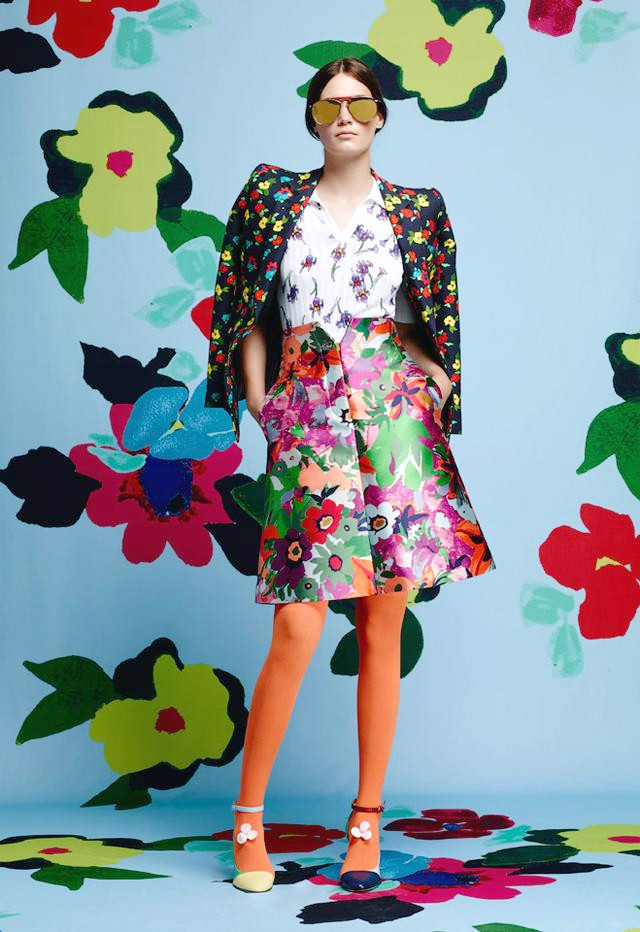 Thom Browne Blumen Outfits