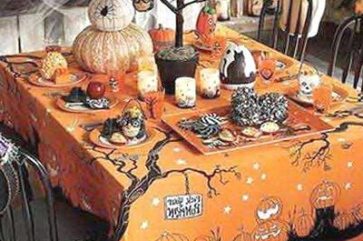 Ideas de decoración de mesa para Halloween
