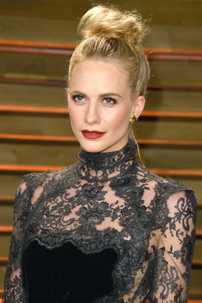 Poppy Delevingne Top Knot