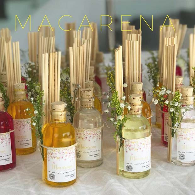Reed Diffusers - Baby Shower Favor Idee