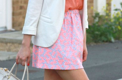 Modische Outfit-Ideen in Orange