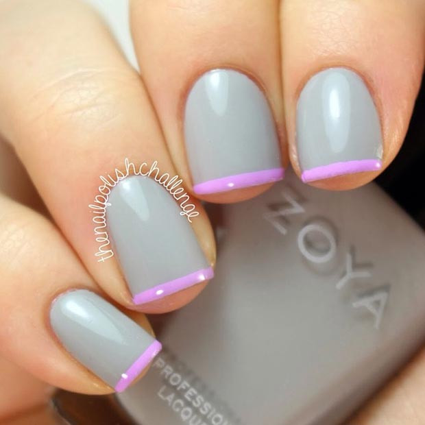 Lila Tipps Nail Design