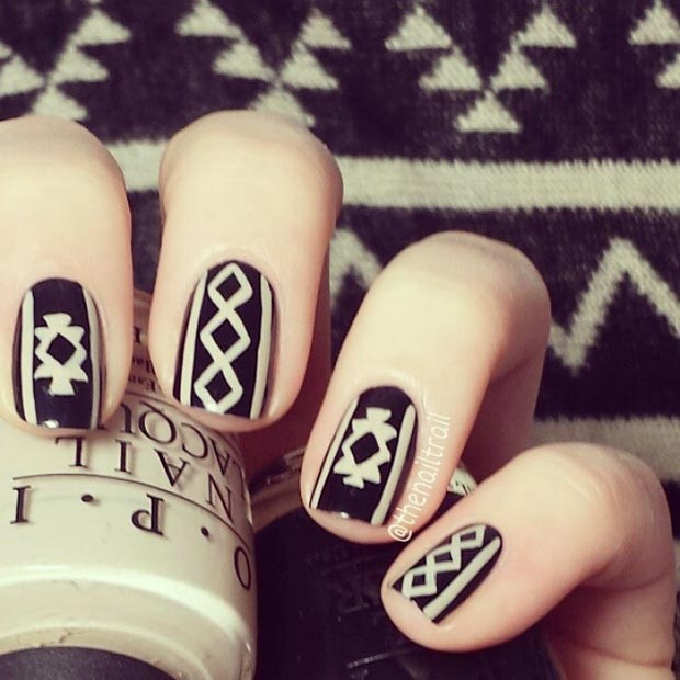 Pullover Inspiration Nail Design