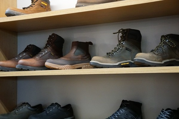 Wolverine Mens Boots Display