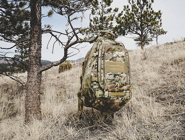 Mercury Tactical 3-Tage-Stretchrucksack in Multicam