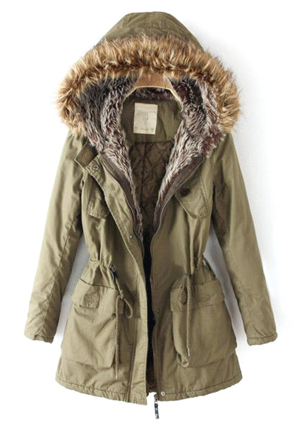 Parka-Outfit