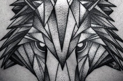 60 geometrische Tier Tattoo Designs für Männer - Cool Ink Ideas