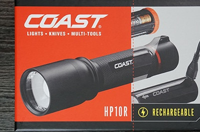 Coast HP10R Flashlight Review - Leichtgewicht Wiederaufladbares LED-Licht