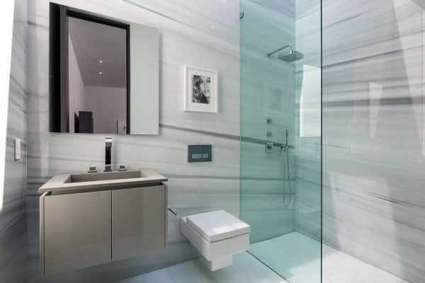Coole Dusche Interior Design-Ideen