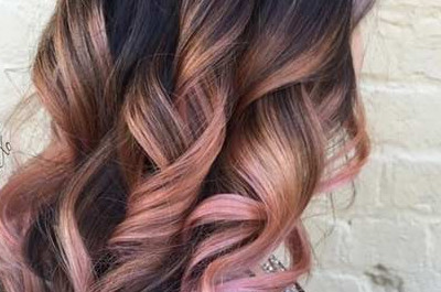 23 Trendy Rose Gold Hair Farbe Ideen