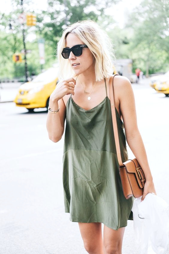 Slip Dress für den Sommer