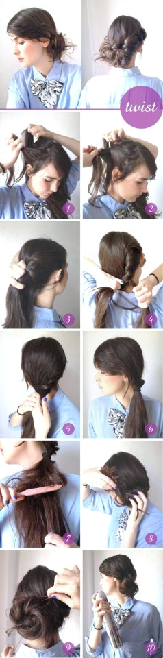 Tutorial Twist Peinado