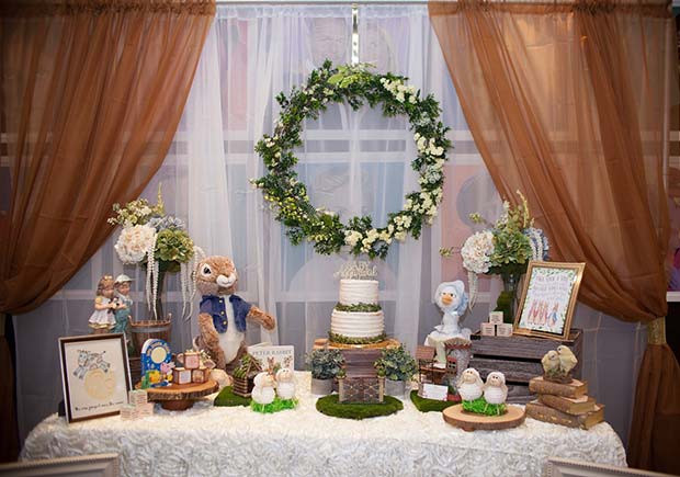 Storybook-Babyparty-Thema
