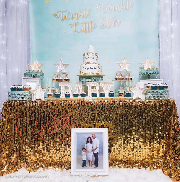 Twinkle Twinkle Baby Shower Thema