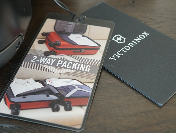 2-Wege-Verpackung Victorinox Spectra 2 0 Dual Access Global Carry On