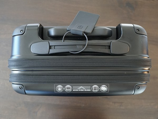 Draufsicht Victorinox Spectra 2.0 Dual Access Global Carry On Suitcase