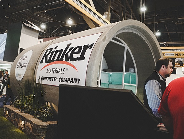 Rinker Materials Quikrete Company 2019 Nahb Show