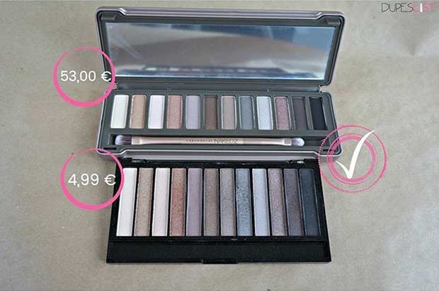 Nackte 2 Palette Dupe