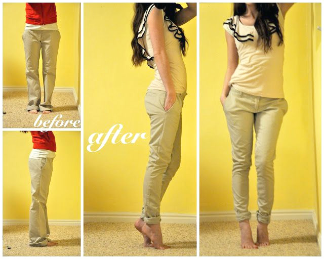 Taillierte Jeans