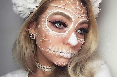 23 Hübsches Halloween-Makeup Ideen