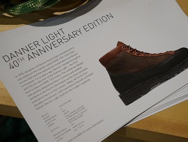 Danner Light 40th Anniversary Edition Herrenstiefel
