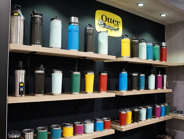 Otter Box Insulated Bottles Retailer Winter Market 2018