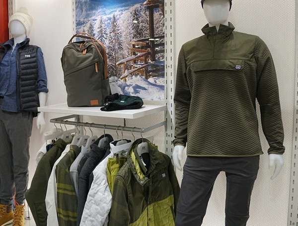 Outdoor-Händler im Wintermarkt 2018 Helly Hansen Mens Collection