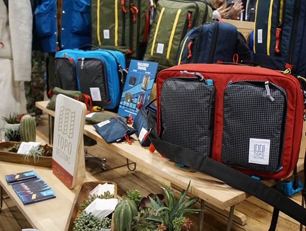 Topo Designs Backpacks Outdoor-Einzelhändler Winter Market 2018